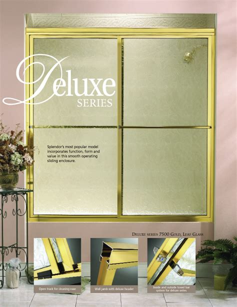 splendor shower doors shower doors cambria glass