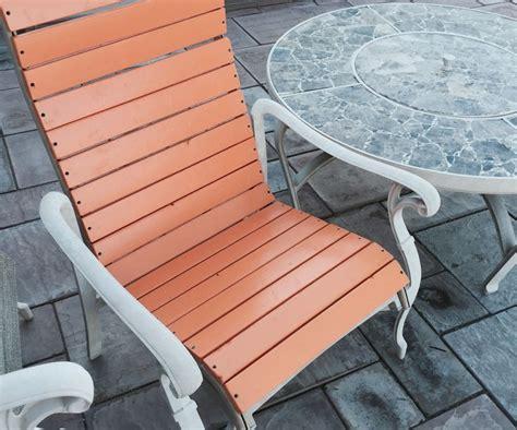 patio chair  build diy patio furniture redo patio