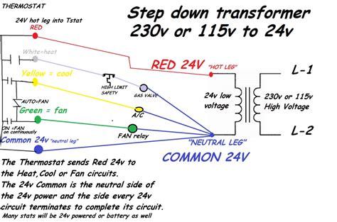 24 volt transformer wiring diagram wiring diagram and