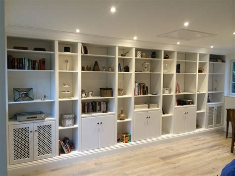 Bookcase Wall Units by Three Wall Unit Solid Wood Bookcases 6 Large Glass