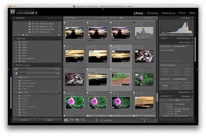 Lightroom Adobe Photoshop Interface Workflow Library Module