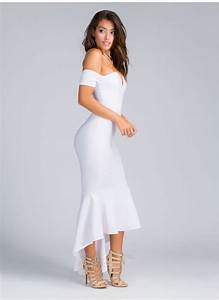 the shoulder dress by and