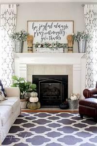 Impressive, Farmhouse, Fireplace, Mantel, Decorations, U2013, Decor, It, U0026, 39, S