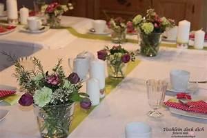 Tischdeko Kommunion Ideen Tischdeko In T Rkis Wei Ideen F R