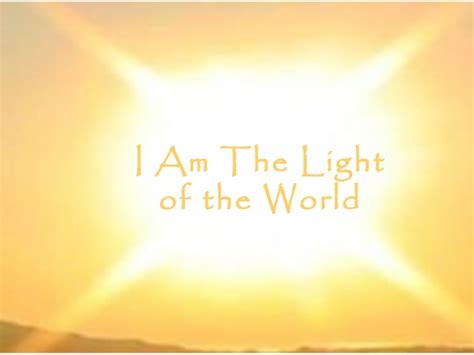 i am the light of the world 8 12