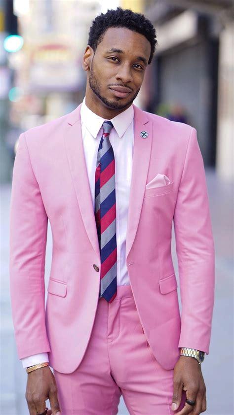 latest coat pant designs hot pink men suit slim fit