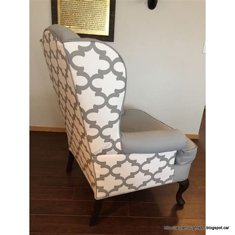 thoughts two tone wing back chairs