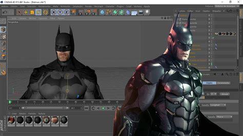 Batman Para Cinema 4d (rig) + Como Mover El Rig Youtube