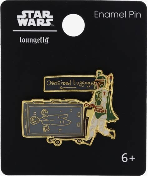 Boba Fett with Han Solo Carbonite Luggage BoxLunch Star ...
