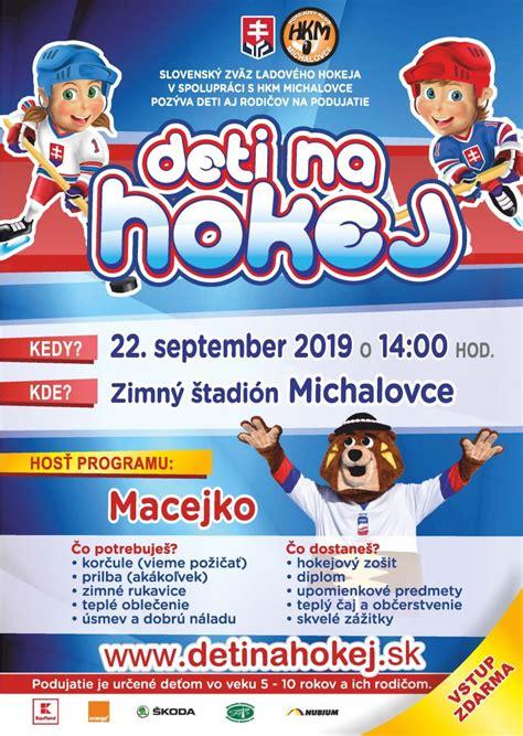 Deti na hokej - Michalovce   SDEŤMI.com