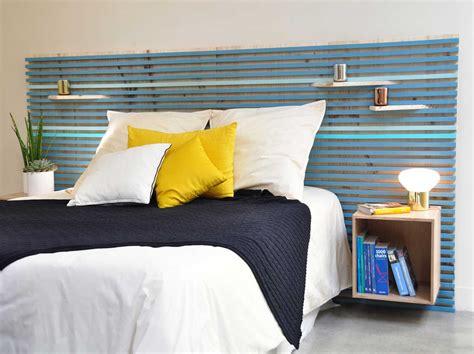 tete de lit diy diy r 233 aliser une t 234 te de lit avec des tasseaux leroy merlin
