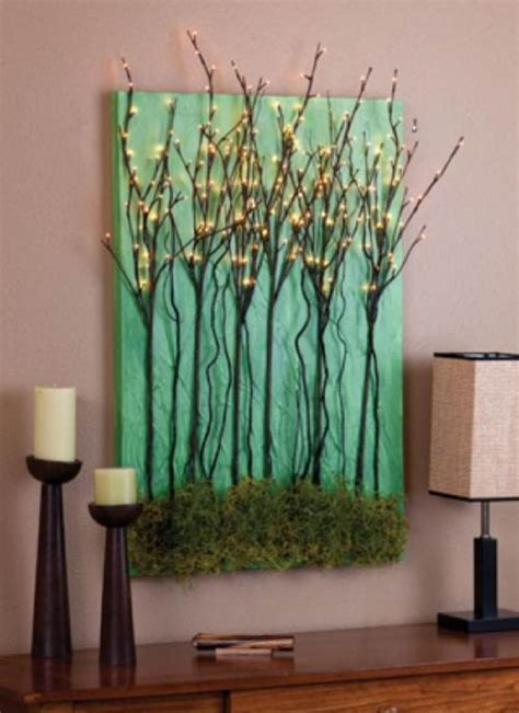 creative craft ideas    tree branch