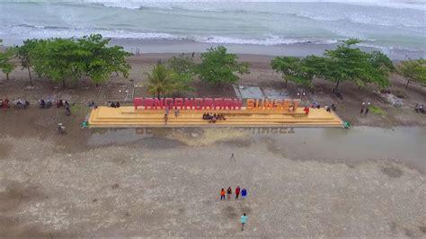 pantai pangandaran pangandaran beach youtube