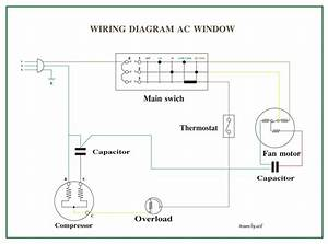 Split Ac Outdoor Capacitor Wiring Diagram