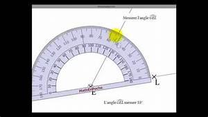 Comment Mesurer Amperage Avec Multimetre : comment mesurer un angle aigu avec un rapporteur youtube ~ Premium-room.com Idées de Décoration