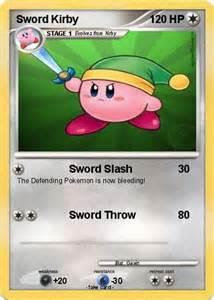 Ultra Sword Kirby Pokemon Cards