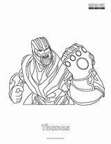 Fortnite Coloring Thanos Draw Omega Colorir Dessin Avengers Coloriage Disegni Skins Colorier Colorare Fun Colorear Cool Ausmalbilder Printable Mandala Zum sketch template