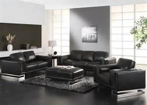 living room design with black leather sofa duashadi com