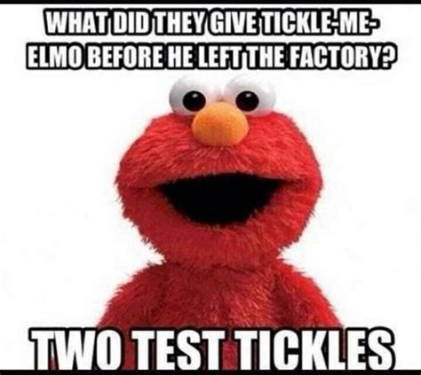 Elmo Meme Tickle Me Elmo Meme Wrong But Feels So Right