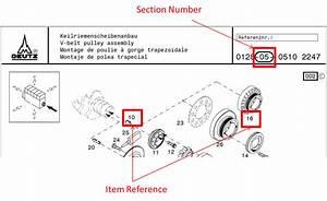 Parts Manual For Khd Deutz F3l 1011