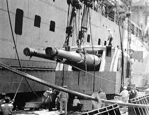 cv    naval guns  oahu     navy