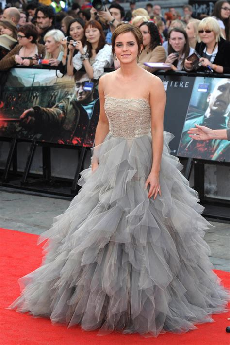 Emma Watson Red Carpet Harry Potter The Deathly