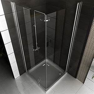 Duschkabine Komplett Günstig : komplett duschkabine 90x90x195 eckeinstieg echtglas dusche duschabtrennung badezimmer ~ Indierocktalk.com Haus und Dekorationen