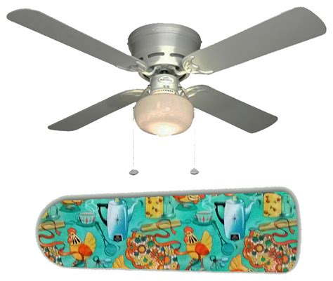 mid century modern ceiling fan 60 39 s mid century kitchen 42 quot ceiling fan and l