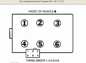 I Need Firing Order From Coil To Cylinders For A Ford
