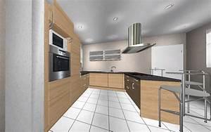 Küche U Form Mit Theke : k chen l form mit theke ~ Michelbontemps.com Haus und Dekorationen