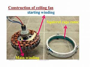 Ceiling Fan Winding Drawing