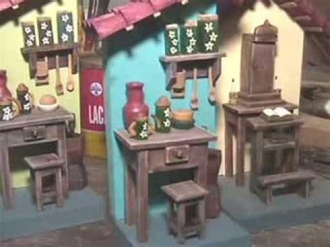 conhe 231 a artesanato em miniaturas