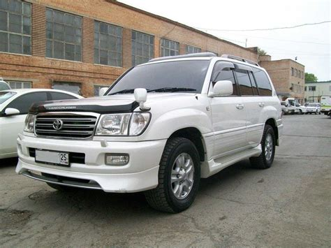 2002 Toyota Land Cruiser by 2002 Toyota Land Cruiser Pictures 4 7l Gasoline
