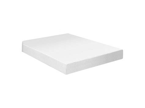 xl memory foam mattress xl 8 quot plush memory foam mattress