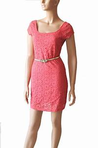 plus size coral bridesmaid cotton lace day dress on luulla With plus size coral dress for wedding