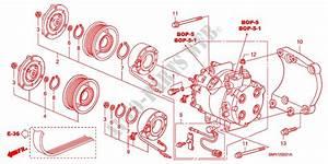 Air Conditioner  Compressor   Diesel  For Honda Cars Civic