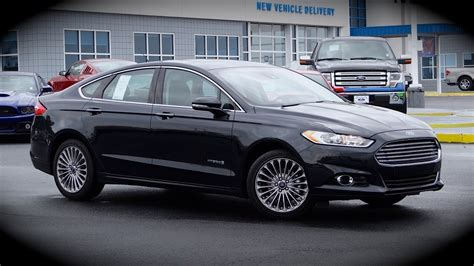ford fusion hybrid review test drive walkaround