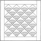Quilt Coloring Geometric Quilts Patterns Shape Template Printable Embroidery Shapes Stuff Sketches Sheets Adults sketch template