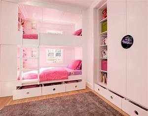 zeitgenossisch chambre fille couleur idee pour rose deco With couleur chambre d ado fille