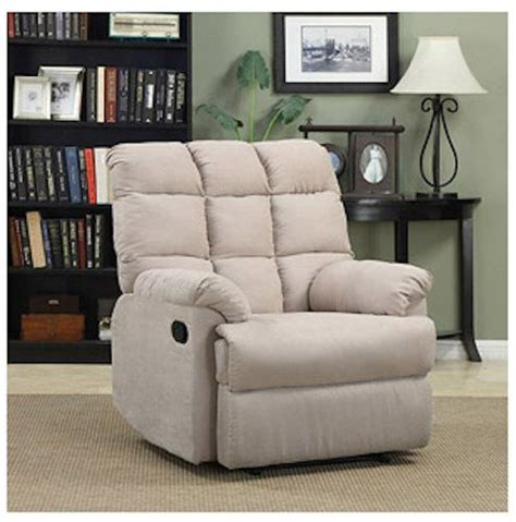 armchair recliner chair a large rocking overstuffed wall