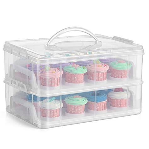 cupcake takercupcake plastic storage container store