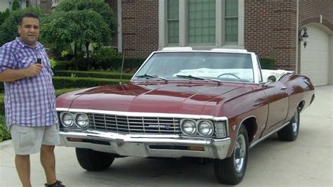 1967 chevy impala ss convertible classic muscle car for sale in mi vanguard motor sales youtube