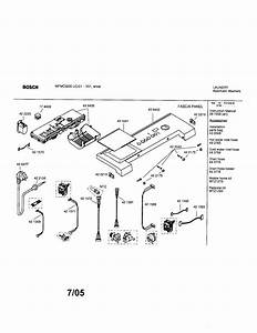 34 Bosch Nexxt 500 Series Dryer Parts Diagram