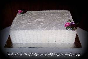 cut down your wedding costs by ordering a sheet cake With wedding sheet cake ideas