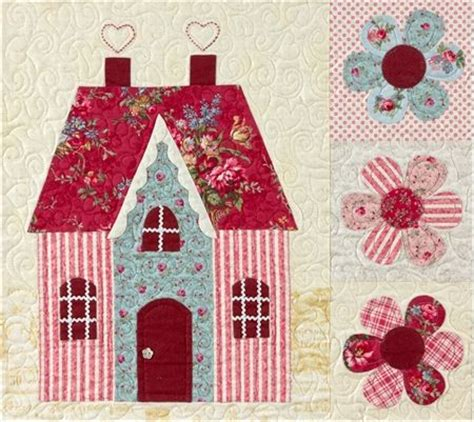 shabby fabrics sweetheart houses 2016 best images about applique on pinterest