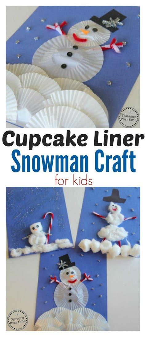 cupcake liner snowman craft snowman crafts cupcake 819 | d6b01bb5d07a92f959a1de8180598d41