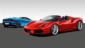 Ferrari Vs Lamborghini : stat attack ferrari 488 spider vs lamborghini huracan spyder top gear ~ Medecine-chirurgie-esthetiques.com Avis de Voitures