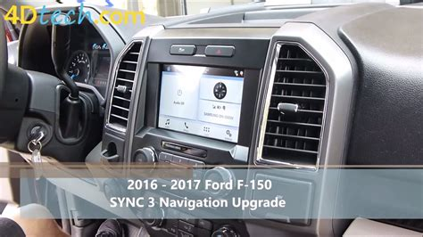 ford sync 3 navigation add factory navigation to sync 3 2016 ford f 150