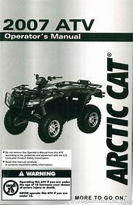 2003 Arctic Cat 500 Atv Owners Manual