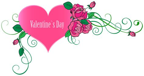 Happy Valentine's Day Clip Art Transparent